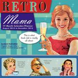 Retro Mama - 2015 Wall Planner Calendar Calendars