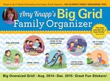 Amy Knapps Big Grid Family - 2015 Calendar Calendars