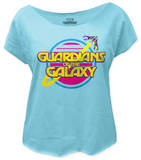 Juniors: Guardians of the Galaxy - Retro Logo (dolman) T-Shirt