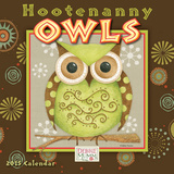 Hootenanny Owls - 2015 Mini Calendar Calendars