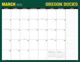 University of Oregon - 2015 16 Month Desk Blotter Calendars