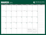 Michigan State University - 2015 16 Month Desk Blotter Calendars