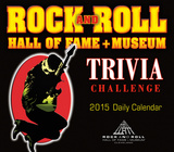 Rock and Roll Hall of Fame Trivia Challenge - 2015 Boxed/Daily Calendar Calendars