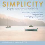 Simplicity - 2015 Mini Calendar Calendars