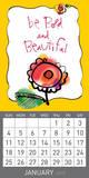 Scatter Joy by Kathy Davis - 2015 Magnetic Calendar Calendars