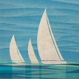 Water Journey II Posters by Dan Meneely