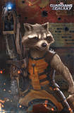 Guardians of the Galaxy - Rocket Raccoon Prints