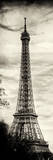 Eiffel Tower, Paris, France - Sepia - Tone Vintique Photography Photographic Print by Philippe Hugonnard