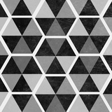 Gray Pattern II Poster by  SD Graphics Studio