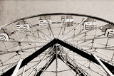 Ferris Wheel Poster by Gail Peck