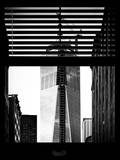 Window View with Venetian Blinds: the One World Trade Center (1WTC) View - New York Photographic Print by Philippe Hugonnard