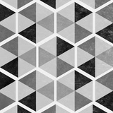 Gray Pattern I Art by  SD Graphics Studio