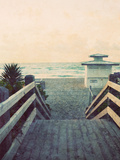 Filtered Beach Photo I Prints by Gail Peck