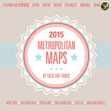 Metropolitan Maps - 2015 Calendar Calendars
