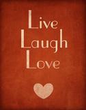 Live Laugh Love Print van  SD Graphics Studio