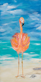 Flamingo I Art by Julie DeRice