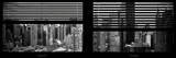 Window View with Venetian Blinds: 42nd Street with theTop of the Empire State Building Photographic Print by Philippe Hugonnard