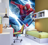 The Amazing Spider-man 2 Deco Wallpaper Mural Vægplakat i tapetform