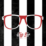 Hip Glasses II Prints by  SD Graphics Studio