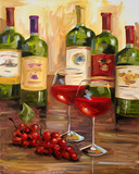 Chianti I Art by Heather A. French-Roussia