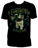 Universal Monsters - Fearsome Faces of Frank Shirts