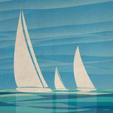 Water Journey I Posters by Dan Meneely