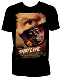 They Live - Poster T-shirts