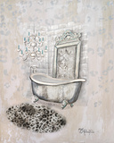 Antique Mirrored Bath II Poster by Tiffany Hakimipour