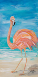 Flamingo II Posters by Julie DeRice