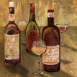 Bottle of Wine I Prints by Elizabeth Medley