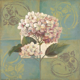 Hydrangeas on Green I Posters by Patricia Pinto
