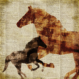 Horses II Art by Dan Meneely