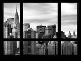 Cityscape with the Chrysler Building of Midtown Manhattan - NYC New York City, USA Photographic Print by Philippe Hugonnard