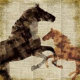 Horses I Posters by Dan Meneely