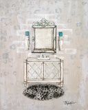 Antique Mirrored Bath I Prints by Tiffany Hakimipour