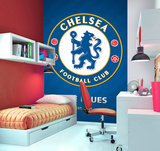 Chelsea Football Club Deco Wallpaper Mural Vægplakat i tapetform