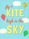 Fly a Kite Poster by  SD Graphics Studio