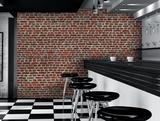 Red Brick Wall Giant Wallpaper Mural Papier peint