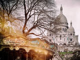 Instants of Series - Sacre-Cœur Basilica - Paris, France Photographic Print by Philippe Hugonnard