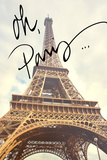 Oh Paris Prints by Emily Navas