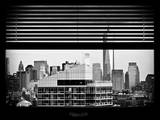 Window View with Venetian Blinds: the One World Trade Center (1 WTC) View Photographic Print by Philippe Hugonnard