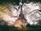 Instants of Series - Eiffel Tower - Paris, France Photographic Print by Philippe Hugonnard