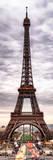 Eiffel Tower, Paris, France Fotografisk tryk af Philippe Hugonnard