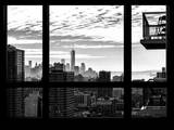 Manhattan Cityscape with the One World Trade Center (1WTC) - New York City, USA Photographic Print by Philippe Hugonnard