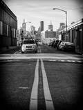 Yellow Cab in Brooklyn Photographic Print by Philippe Hugonnard