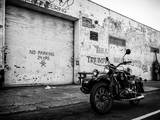 Motorcycle Garage in Brooklyn Photographic Print by Philippe Hugonnard