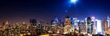 Panoramic Landscape by Night of Manhattan Photographic Print by Philippe Hugonnard