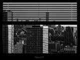 Window View with Venetian Blinds: the One World Trade Center (1WTC) Photographic Print by Philippe Hugonnard