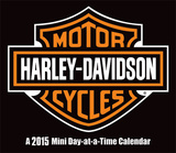 Harley-Davidson - 2015 Mini Day-at-a-Time Box Calendar Calendriers