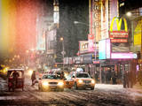 Instants of NY Series - NYC Urban Scene Fotografisk tryk af Philippe Hugonnard
